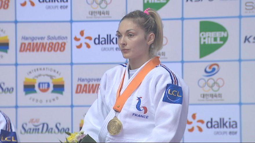 França domina o dia no Grande Prémio de Jeju em judo
