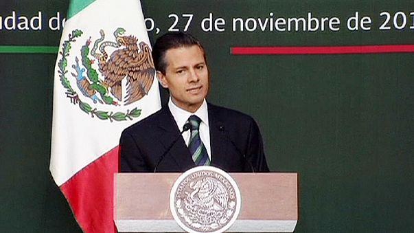 Nach Protesten in Mexiko: Präsident Peña Nieto kündigt Reformen an