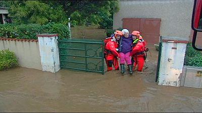 France: le Var encore sous les eaux