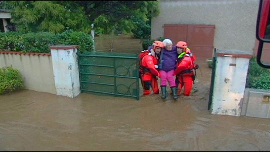 Eine Tote bei Unwettern in Südfrankreich