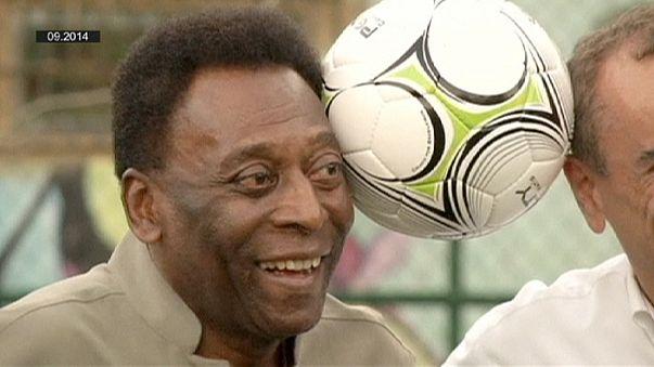 Pelé, en cuidados especiales en un hospital brasileño