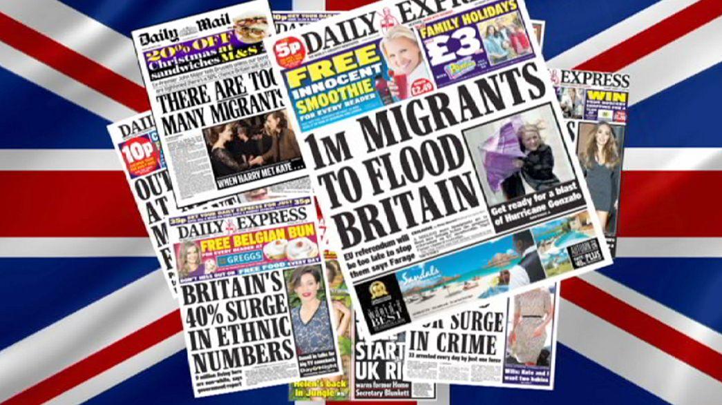 Britânicos preocupados com imigração e com rutura do sistema social