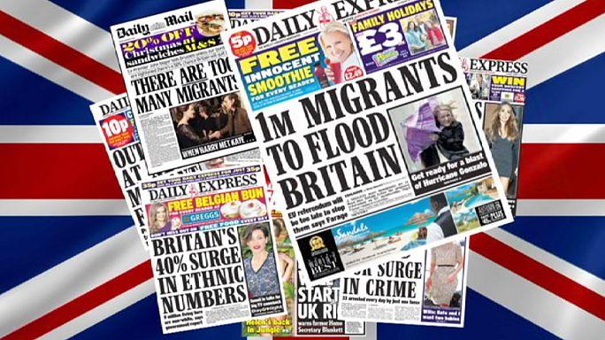 İngiltere'nin göçmen sorunu