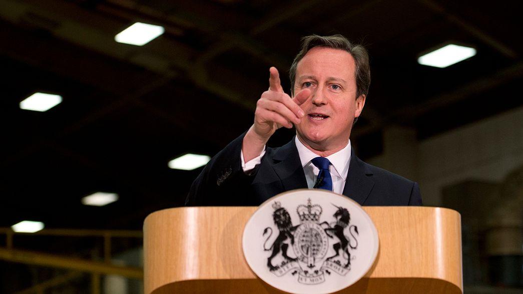 ¿O restricciones a la inmigración en el Reino Unido o adiós a la Unión Europea?, advierte Cameron