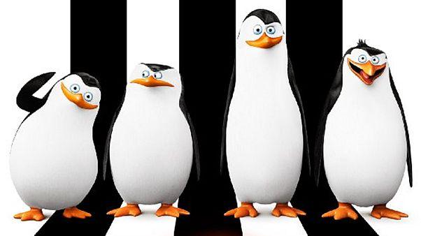 Uma aventura dos pinguins de Madagáscar no grande ecrã