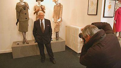 Pierre Cardin inaugura su nuevo museo en París