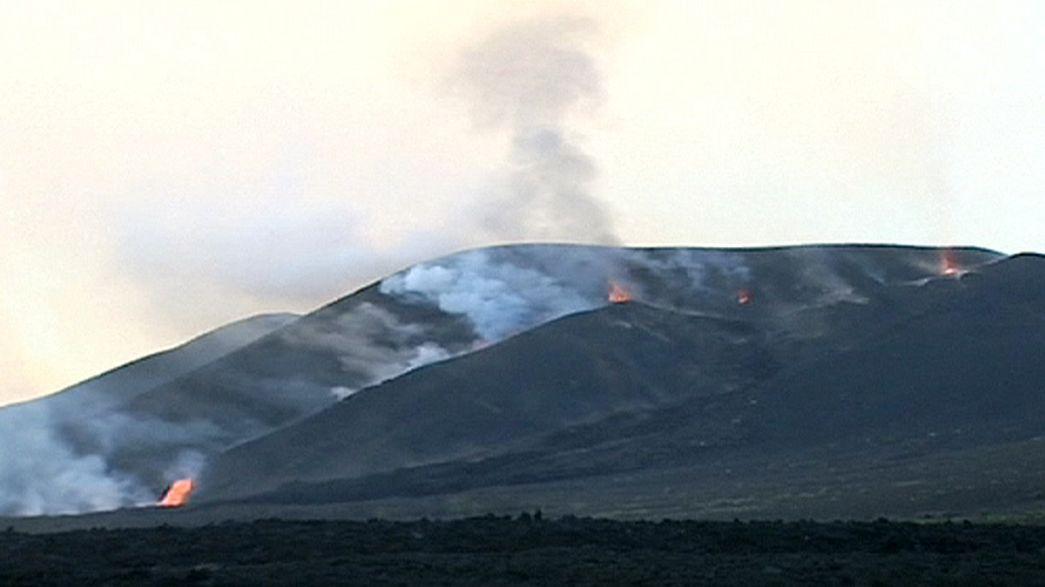 Кабо Верде: лава угрожает жителям острова Фогу