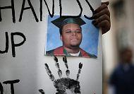 Ferguson, US democracy 'on trial'