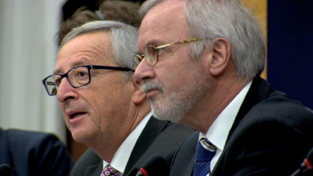 Juncker, visita del papa y premio Sájarov