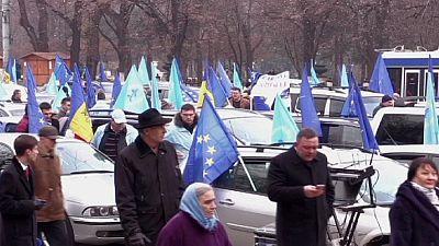 Richtungswahl in Moldawien