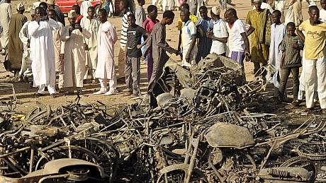 Nigeria vows to track down militants