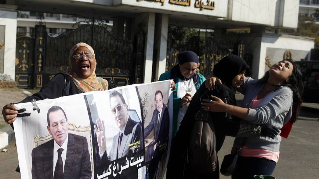 Indignación entre los familiares de las víctimas por la sentencia a favor de Mubarak