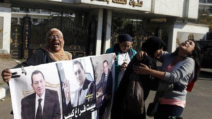 Mubarak-per: Az öröm és a düh könnyei
