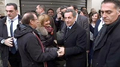 Former French President Nicolas Sarkozy makes political comeback