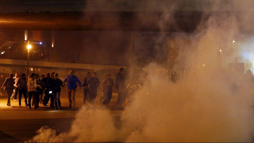 Cairo disturbances following Mubarak court ruling