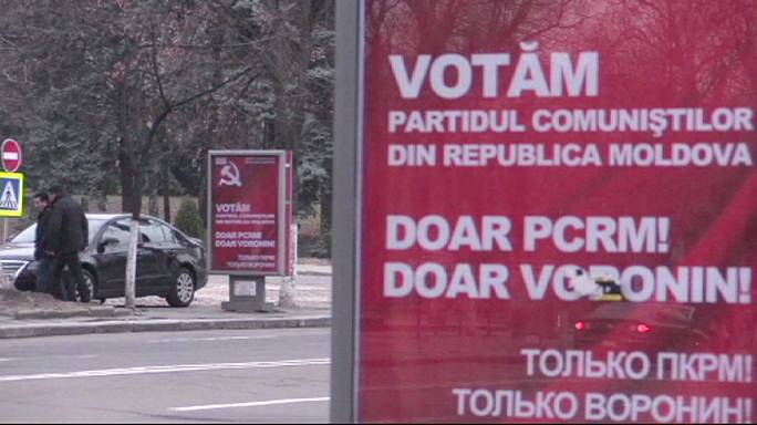 Moldovans vote in elections split between East and West