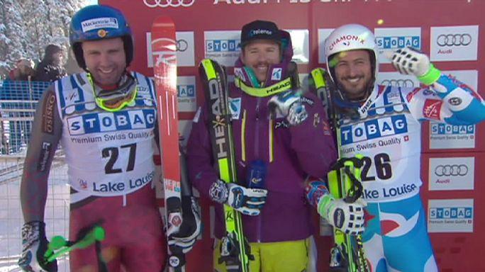 كأس العالم للتزلج الألبي: يانسرود الأسرع في سباق الهبوط بلايك لويز