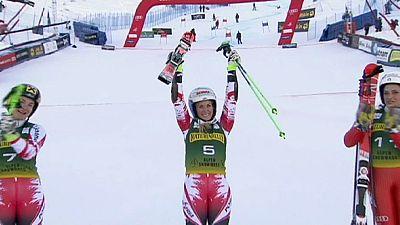 Riesenslalom: Österreicherin Brem siegt in Aspen