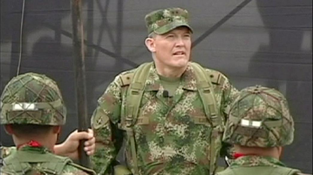 Colombian general released by FARC raising hopes for peace talks