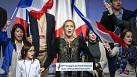 National Front leader Marine Le Pen eyes up France's 2017 presidential election