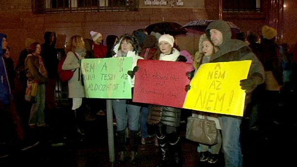 Ungheria. Campagna shock contro lo stupro