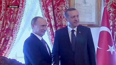Putin y Erdogan exploran alianzas en Turquía