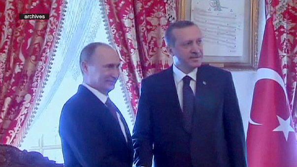 Putyin elnök Ankarába látogat