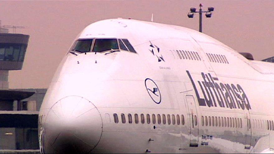 Pilotos da Lufthansa em greve