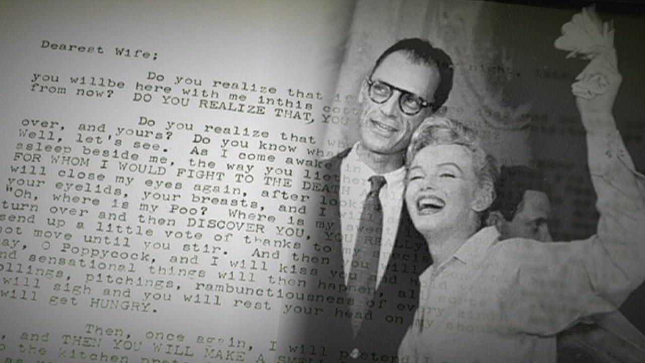 Les lettres d'amour de Marilyn Monroe aux enchères