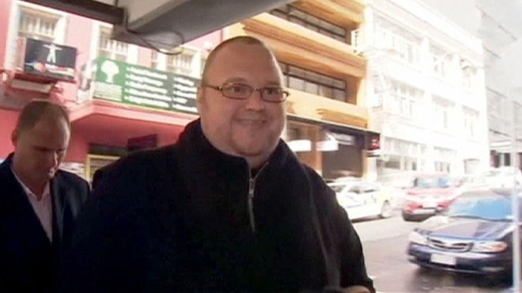 El fundador de Megaupload se libra de la cárcel en Nueva Zelanda