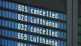 Sztrájkolnak a Lufthansa pilótái hétfőn és kedden