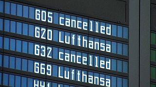 Sciopero piloti Lufthansa: 1350 voli cancellati
