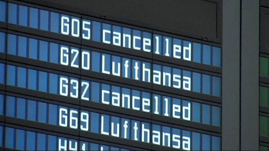 Two-day Lufthansa strike prelude to Christmas transport threat by German unions