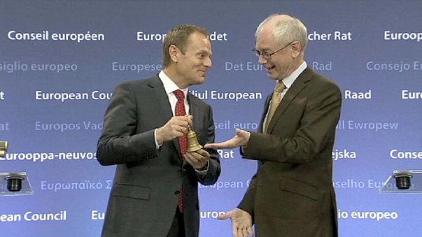 Donald Tusk tomou posse como Presidente do Conselho Europeu