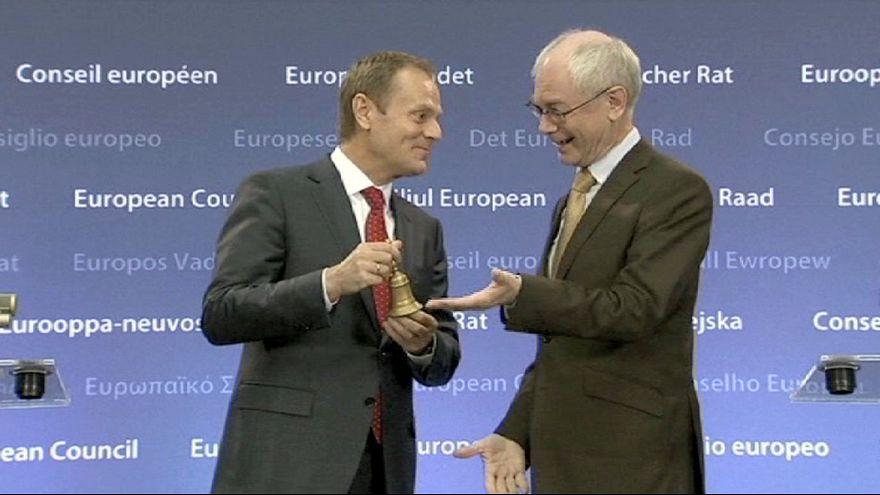 Donald Tusk comienza su mandato en el Consejo Europeo