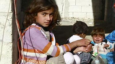Neue Bilder zeigen Leben der Flüchtlinge in Kobani