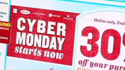 Cyber Monday lifts retailers hopes of shopping surge