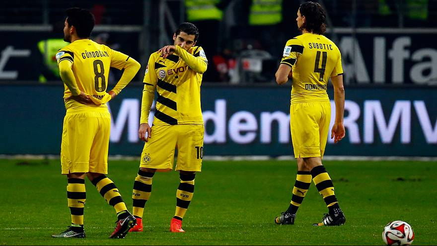 Dortmund go from title contenders to relegation strugglers