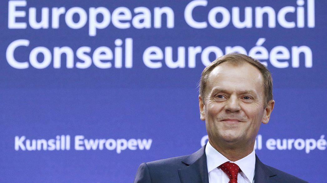 دونالد توسك يتسلم رسميا رئاسة المجلس الاوروبي لمدة سنتين و نصف