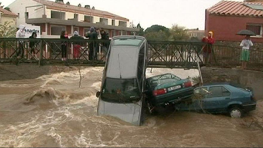 Наводнение во Франции: пятеро погибших, тысячи эвакуированных