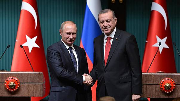 خط غاز بين روسيا وتركيا واتفاقات تجارية بين البلدين