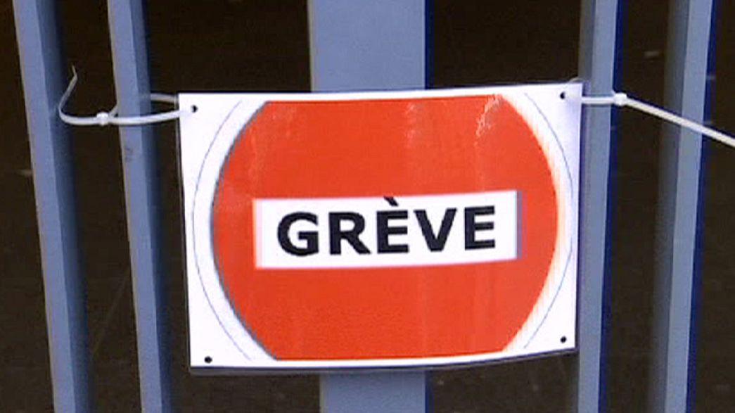 Streik in Belgien