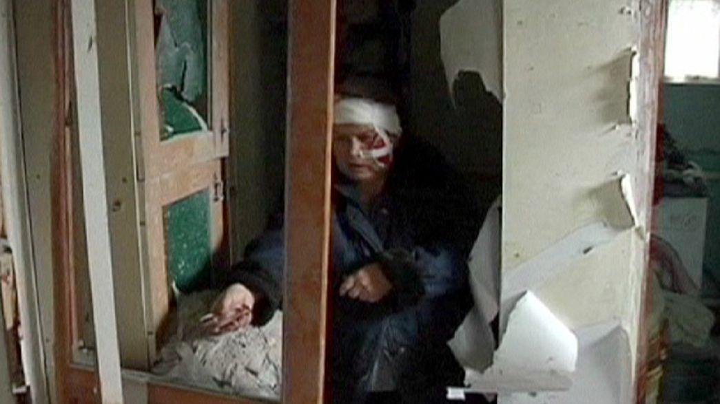 Ucrânia: armas calam-se junto ao aeroporto de Donetsk