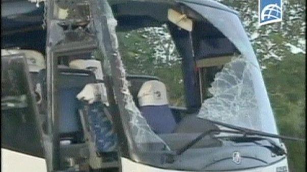 Küba'da turistleri taşıyan otobüs kaza yaptı