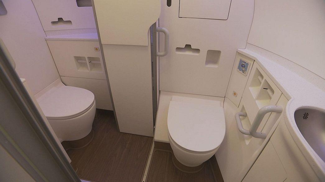Ein neues Kabinendesign bietet Airbus-Passagieren mehr Platz