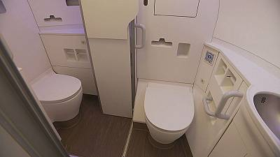 New Airbus design offers toilet facilities for passengers with reduced mobility