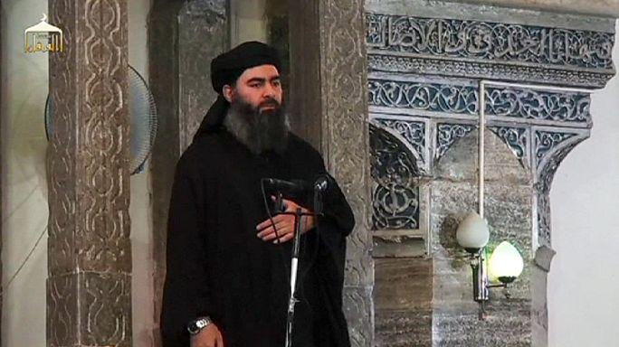 IŞİD liderinin eşi ve kızı gözaltında