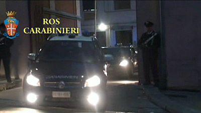 Desarticulada una red mafiosa en Roma