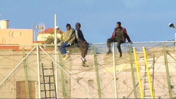 Melilla : plus de 600 immigrants ont tenté de franchir la frontière