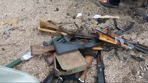 Kosovo : destruction d'armes